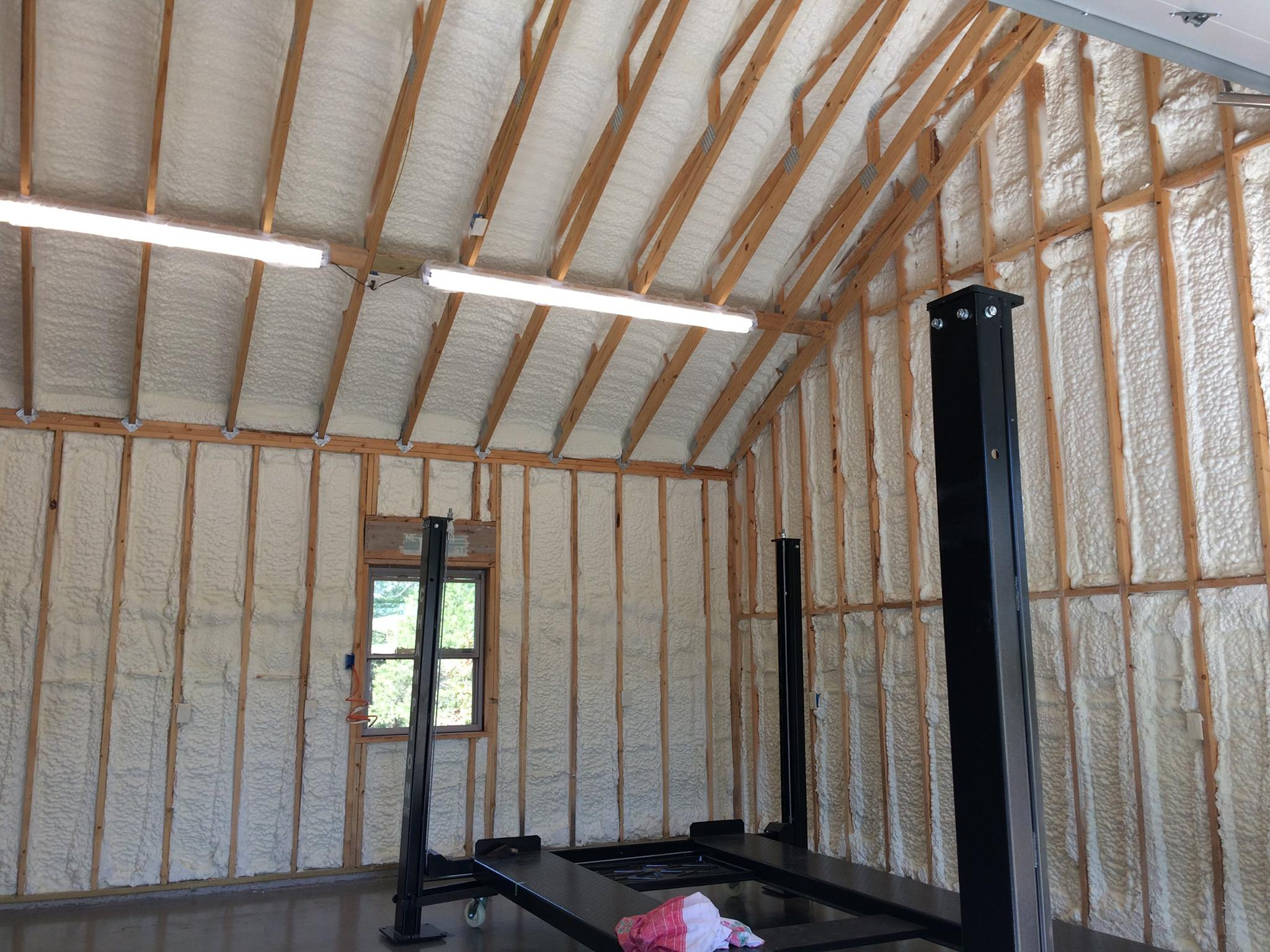 Foam Insulation in New Home
