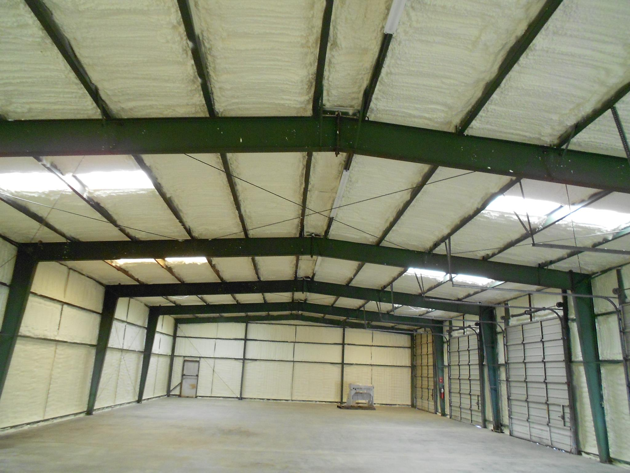 Foam Insulated Ceiling in Metal Buildings